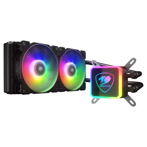 COUGAR 美洲獅 AQUA ARGB 240 高效能一體式CPU水冷散熱器