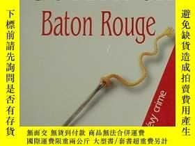 二手書博民逛書店法文版暢銷小說罕見Baton Rouge (Broche) de