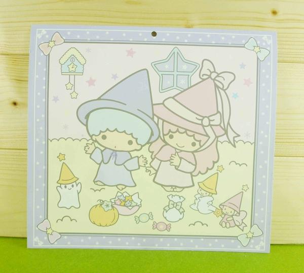 【震撼精品百貨】Little Twin Stars KiKi&LaLa 雙子星小天使~雙面卡片-紫魔法
