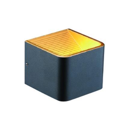 燈飾燈具【燈王的店】LED 7W 黑金箔壁燈附光源(限裝潢板用) LED-26002-BK