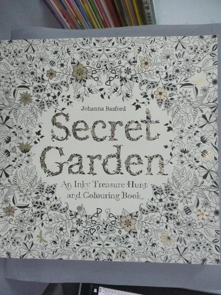 【書寶二手書T1/藝術_YEN】Secret Garden-An Inky Treasure Hunt and…_Johanna Basford