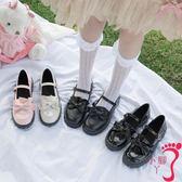 娃娃鞋 日系洛麗塔lolita厚底女鞋可愛蘿莉淺口圓頭娃娃鞋原宿軟妹小皮鞋
