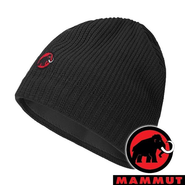 【MAMMUT 長毛象】Sublime毛帽『黑』1191-01542 戶外 露營 登山 休閒 旅遊 毛帽 保暖 冬天