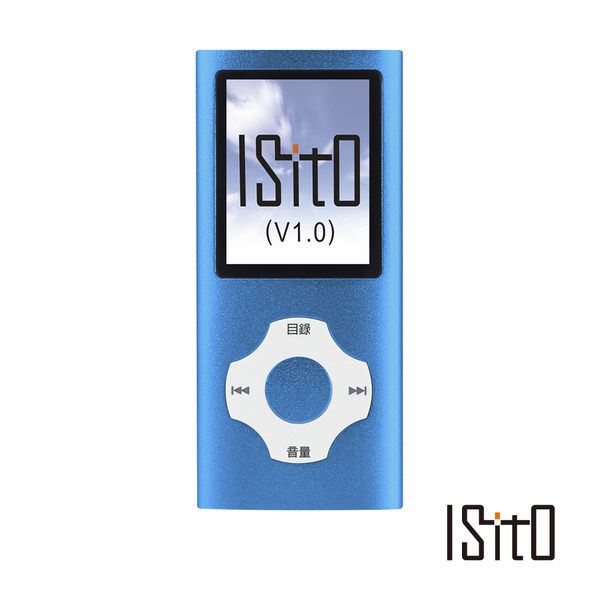 ISITO MP3數位播放器(4G) IS-1173VF(R)