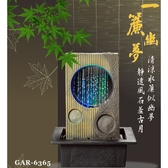 ◇KINYO 耐嘉 GAR-6365『一簾幽夢』流水飾品系列 開運流水組 招財 時來運轉 擺飾 情境燈 居家 開店