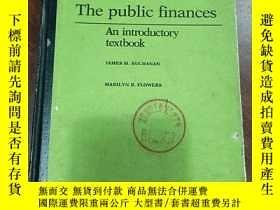 二手書博民逛書店The罕見public finances 公共財政Y356856