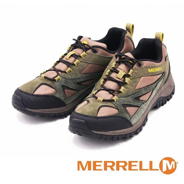 MERRELL PHOENIX BLUFF GORE-TEX 專業功能健行鞋 男鞋-橄欖綠