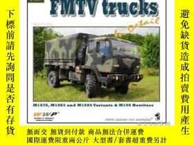 二手書博民逛書店Green罕見21. FMTV truck in detail (damaged)-綠色21。FMTV卡車詳圖(損