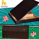 ASSARI-房間組二件(床箱+側掀)雙...