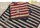 比得兔/彼得兔 提花精繡方巾/手帕巾-PR497MT(共2色)【YS SHOP】