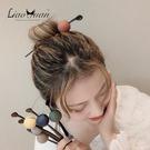 盤髮器 日繫和風圓球髮簪簡約現代丸子頭盤髮器甜美少女森繫頭飾 店慶降價