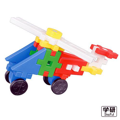 【日本學研】益智積木系列 - 消防車組合