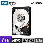 【WD 威騰】WD10EZEX 1TB 3.5吋桌上型硬碟 (藍標)