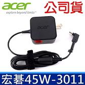 公司貨 宏碁 Acer 45W 方形 原廠 變壓器 Chromebook CB5-132T-C32M CB3-111-C4HT S7-392 Aspire V33-331 R7-371T-76P5