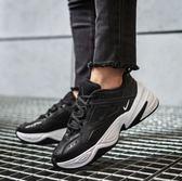 【現貨折後3080】Nike Wmns M2K Tekno 黑 白 Dad Shoes 復古 老爸鞋 皮革 女鞋 運動鞋 AO3108-005