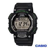 CASIO 卡西歐  魅力運動風太陽能電子錶 藍  STL-S100H-2A
