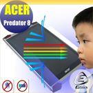 【Ezstick】ACER Predator 8 GT-810 電競平板專用 防藍光護眼鏡面螢幕貼 靜電吸附 抗藍光