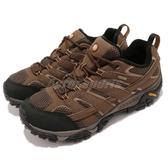 Merrell 戶外鞋 Moab 2 GTX Wide 咖啡 黑 Gore-Tex 防水 透氣 越野 休閒鞋 運動鞋 男鞋【ACS】 ML06041W