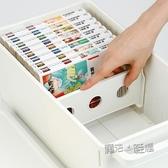 日本進口家用dvd碟片cd盒光盤收納盒箱塑料專輯游戲碟儲存盒架  ATF  魔法鞋櫃