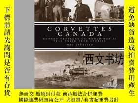 二手書博民逛書店【罕見】2008年出版Corvettes Canada: Con