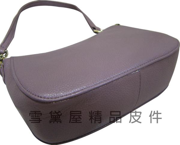 ~雪黛屋~ITALI-DUCK 手提肩背包小容量100%牛皮革活動型長背帶台灣製造主袋內二拉鍊暗袋二隔層ID0325
