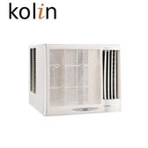«送基本安裝/0利率»KOLIN歌林 4坪 不滴水 窗型冷氣 KD-282R06(右吹)/KD-282L06(左吹)【南霸天電器百貨】