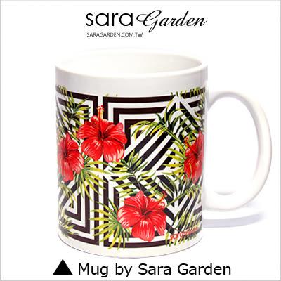 客製 手作 彩繪 馬克杯 Mug 質感 叢林 大花 圖騰 咖啡杯 陶瓷杯 杯子 杯具 牛奶杯 茶杯