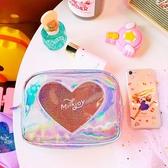化妝包旅行洗漱用品收納日系少女愛心【奇趣小屋】