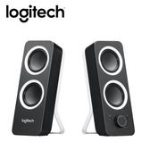【logitech 羅技】Z200  立體聲音箱 黑 【贈萬用保溫袋】
