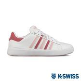 K-Swiss Pershing Court Light休閒運動鞋-女-白/粉紅