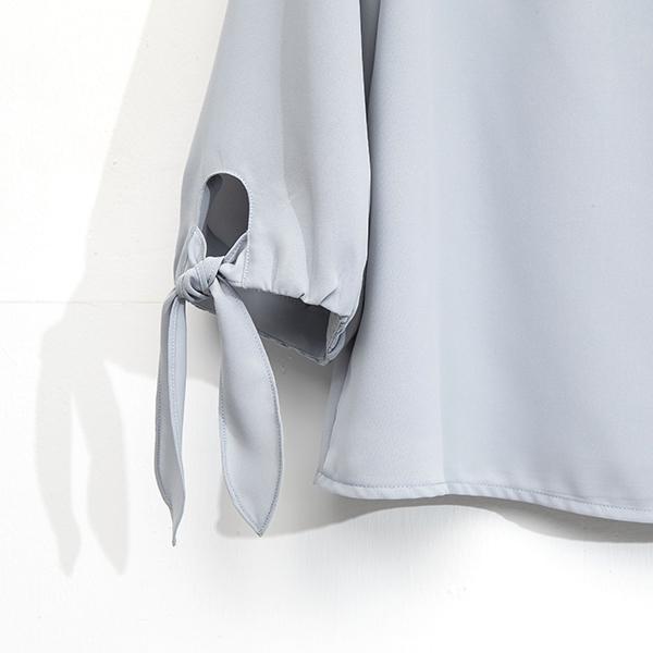 IENA 2021 Spring #1275003 袖口結瓣雪紡上衣