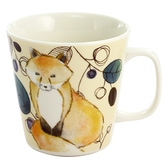 【日本製】毛茸茸樂園系列 瓷器馬克杯  狐狸圖案 SD-6938 - 日本製