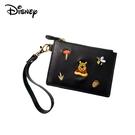 【正版授權】小熊維尼 皮質 刺繡 票夾零錢包 票夾包 零錢包 維尼 Winnie 迪士尼 Disney - 003134