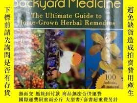二手書博民逛書店The罕見Big Book of Backyard Medicine: The Ultimate Guide to