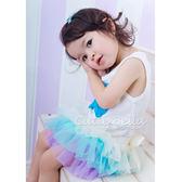Cutie Bella雪紡蝴蝶結蓬蓬褲裙Cream-Cream/Aqua/Lilac