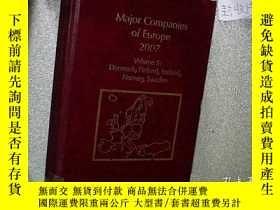 二手書博民逛書店MAJOR罕見COMPANIES OF EUROPE 2010