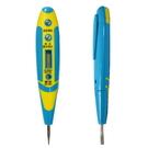 【GD272】夜視藍光驗電筆 電子感應測電筆(有液晶螢幕)可驗DC 直流電/AC交流電12V-240V EZGO商城