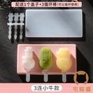 自制冰淇淋模具家用兒童硅膠做冰棍冰糕冰棒磨具自制【宅貓醬】
