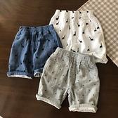 嬰兒棉~軟得一塌糊涂 男童純棉紗布短褲 兒童寶寶夏季休閒褲 幸福第一站