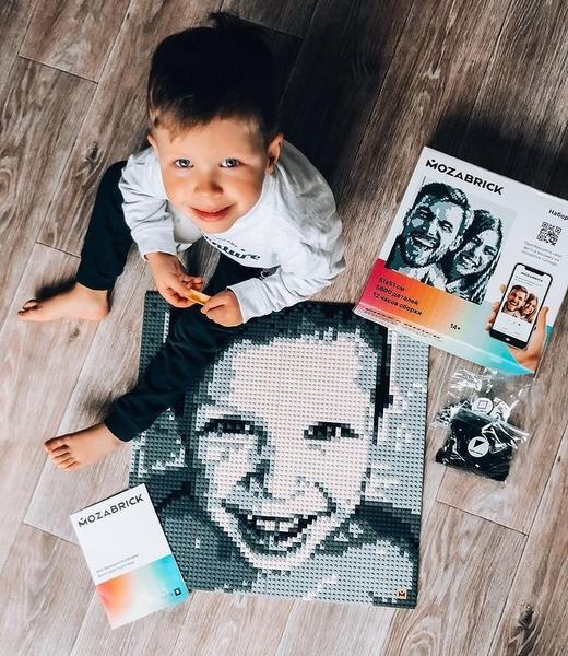 俄羅斯 MOZABRICK 馬賽克拼圖 DIY像素照片 馬賽磚 8BIT感像素拼圖 情人節禮物 交換禮物 專屬裝飾