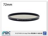 送USB 小米風扇~STC IR-CUT 4-stop ND16 Filter 零色偏 減光鏡 72mm (72,公司貨)