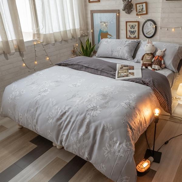 天絲(40支) Q1加大床包三件組 多款可選 100%天絲 台灣製 棉床本舖