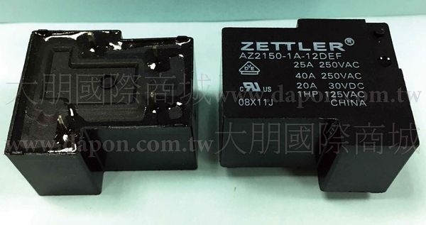 *大朋電子商城*AMERICAN ZETTLER AZ2150-1C-24DEF 繼電器Relay(5入)