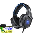 【美國代購】耳罩式耳機的RUNMUS立體聲遊戲耳機PS4耳機Xbox One耳機 帶環繞聲