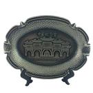 【收藏天地】台灣紀念品*中正紀念堂銀色飾盤