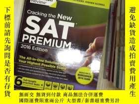 二手書博民逛書店Cracking罕見the New SAT Premium Ed