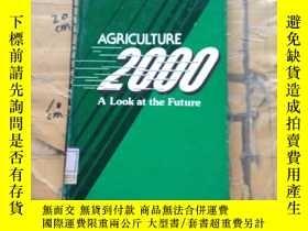 二手書博民逛書店Agriculture罕見2000: A Look at the