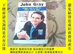 二手書博民逛書店John罕見Gray krijgn wat je wilt en