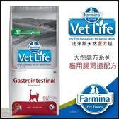 *KING WANG*義大利法米納Vet Life天然處方糧VCG-1貓用腸胃道配方0.4kg取代i/d、GI32、GIM35