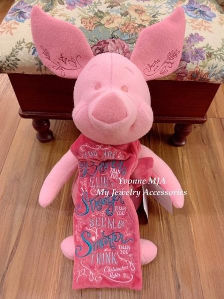 Yvonne MJA 英國迪士尼商品 限量精裝版 Piglet 小豬 12吋 娃娃 現貨加預購